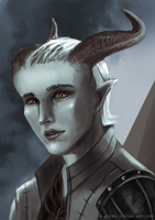 DAI: Inquisitor Adaar by R-Aters