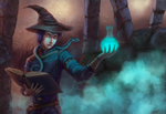 The Boy Witch by R-Aters