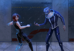 ME: Sparring by R-Aters