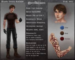 Character sheet: Cain Garlend by R-Aters