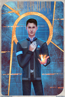 DBH: Connor by R-Aters
