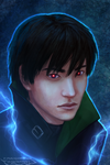 Darker than Black: Hei by R-Aters
