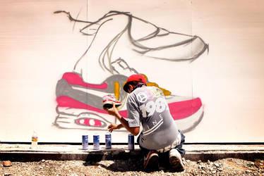 Shoe Graf by emanesque