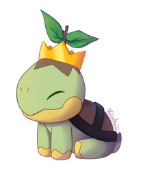 Turtwig by Kiichiii