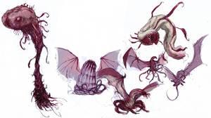 Eldritch Dragons by SirHanselot