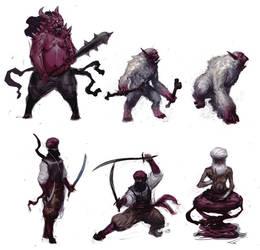 dudes n demons by SirHanselot