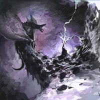 knight v dragon by SirHanselot