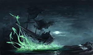 Ghostship by SirHanselot