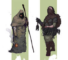 Leper and Ratcatcher by SirHanselot