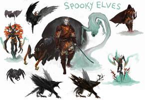 All Hallow's Elves by SirHanselot