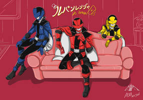 Lupinranger In House by Achscooler