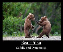 Bear fights by TheDarkening