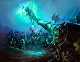 Warhammer WAAAGH Orks by faroldjo
