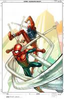 spiderman, the clone saga 4 by faroldjo