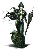 Realm of the Fellnight Queen 1 by faroldjo