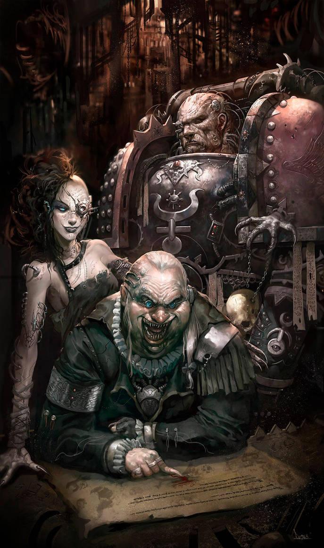 Warhammer 40k Black Crusade by faroldjo