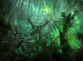 Warhammer: NAGASH DER UNBEUGSAME by faroldjo