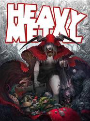 Heavy Metal contest by faroldjo