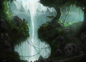 The Jungle Trek cont. by d3cap