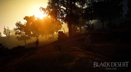 [Black Desert] A new morning by MyuRhee