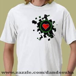 Zelda Inspired Shirt Design by dandesuka
