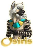 Osiris Badge by Idess