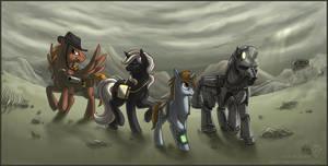Equestrian Wasteland by Idess