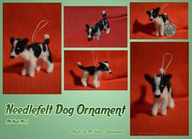 Poi Needlefelt Ornament by Idess