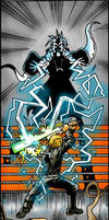 Battle with Joruus C'baoth by Xaliryn