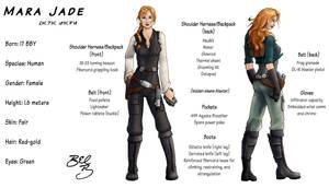 Mara Jade Redesign by Xaliryn