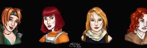 Redheads of Legend by Xaliryn