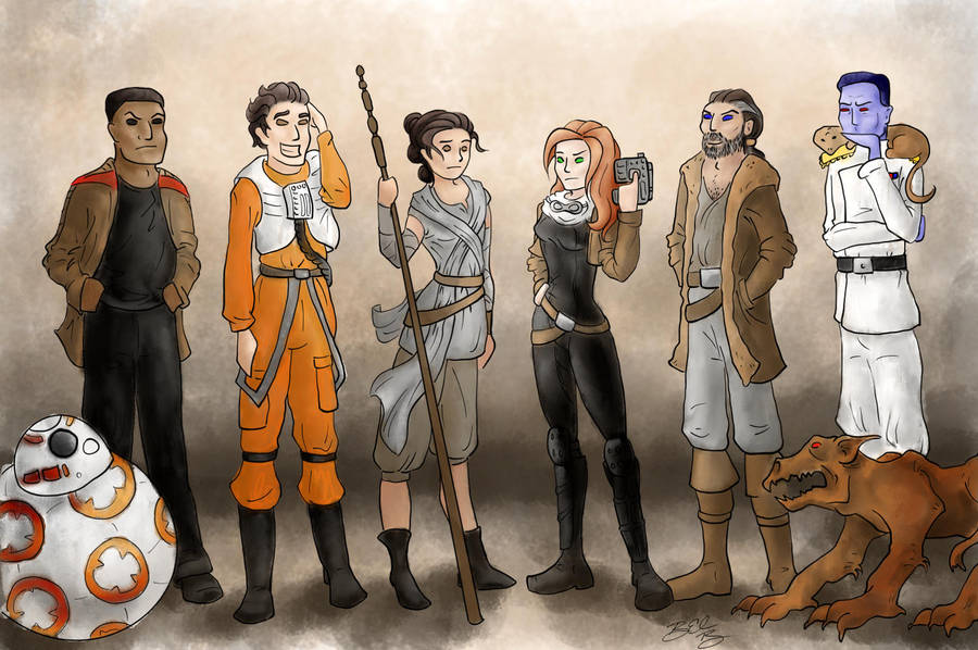 Force Awakens vs Thrawn Trilogy by Xaliryn