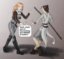 Rey meets Mara by Xaliryn