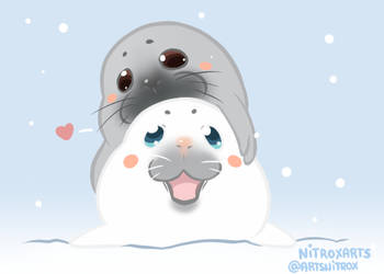 Victuuri seal by NitroxArts