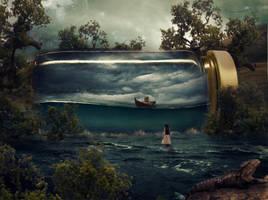 Imagine A Dream 2 by BenjaminHaley