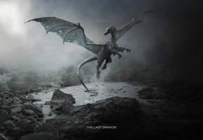 The Last Dragon by BenjaminHaley