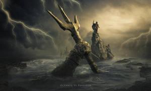 Oceanus Vs Poseidon by BenjaminHaley