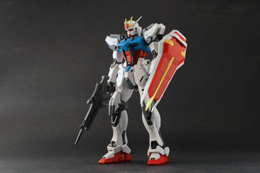 Gundam Aile Strike 01 by BenjaminHaley