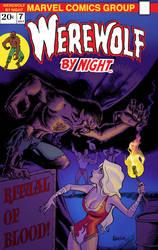 Werewolf By Night: Covered by jasonbarton