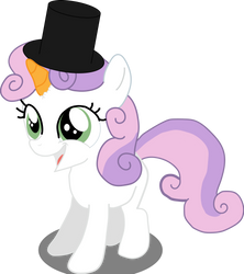 Sweetie The Snowpony by Hexedecimal