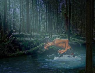 Werewolf Transformation by Lady-FireKnight