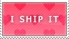 I Ship It Stamp by DANK-HANK