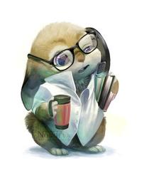 Office Bunny by Nordeva