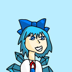 Touhou cirno the ice fairy by Memy9909Haters