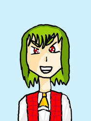 Touhou yuuka by Memy9909Haters