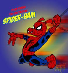 Peter Porker the Spectacular Spider-Ham! by CRSMM