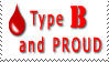 Type B and Proud by WiseWanderer