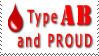 Type AB and Proud by WiseWanderer