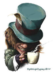 The Mad Hatter by Splitlipgypsy