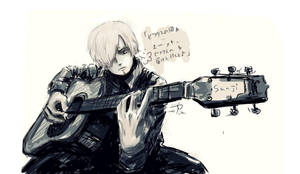 Guitar by Amal-Amaru